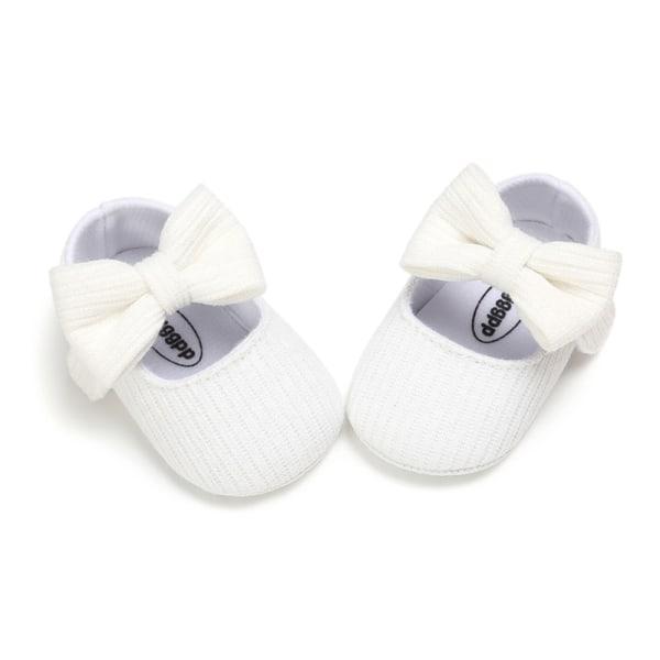Söt Baby Girl Anti-Slip Bowknot Casual Walking Shoes