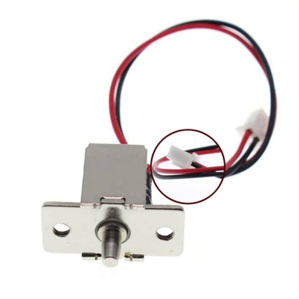 DC 12V 0.5A Mini Electric Magnetic Cabinet Bolt Push-Pull Lock