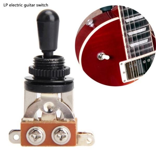 Hållbar Guiatr 3-vägs elektrisk vippströmställare liten och ömtålig