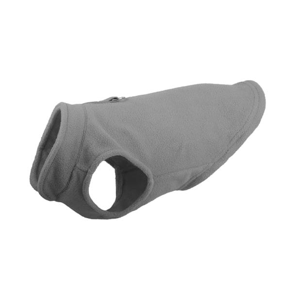 Fleeceväst för kallt väder Hundvarm ärmlös tröja