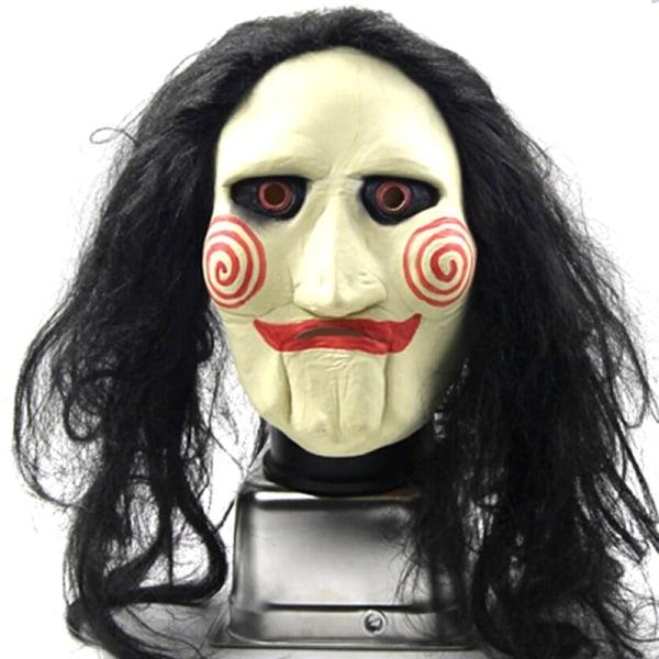 Halloween Chainsaw massacre Jigsaw Puppet  Latex Masks A