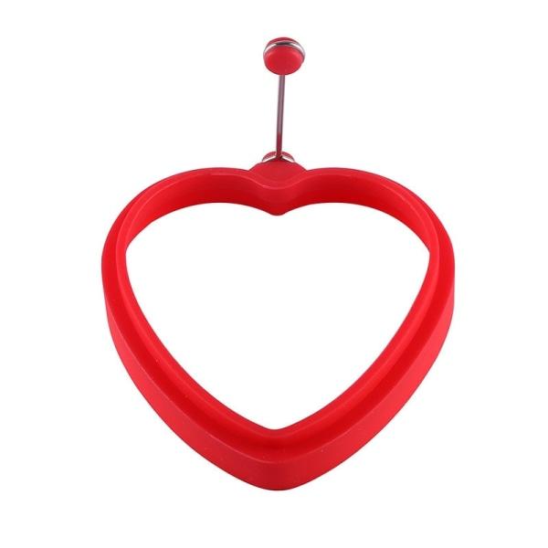 Hjärtformad silikonomelettpannkakform