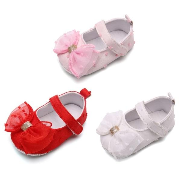Infant Asakuchi Princess Cute Mesh Bow Toddler Shoes W 13-18Months