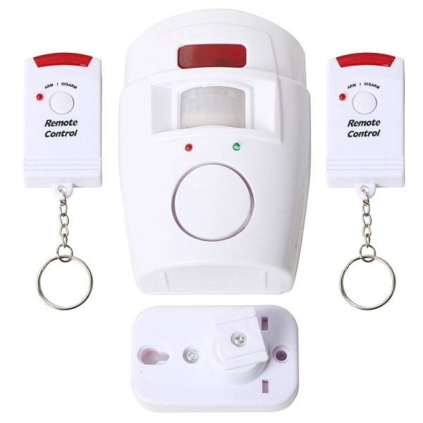 Infrared human body induction remote alarm