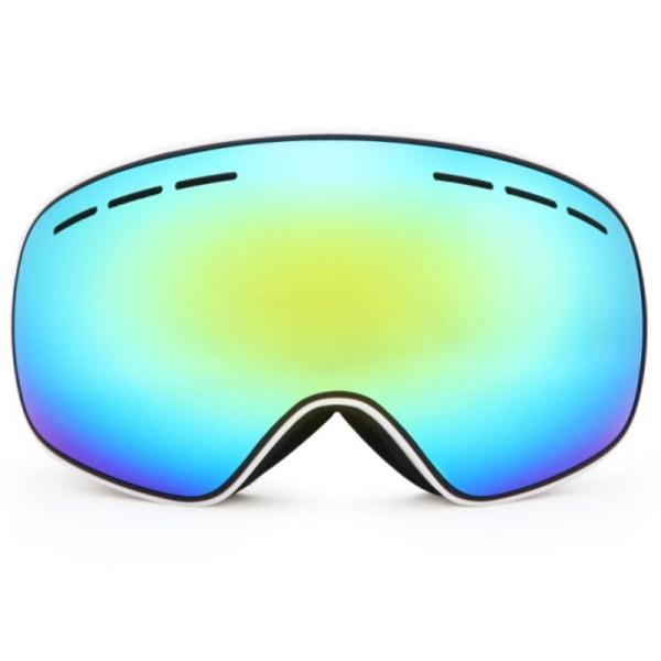 Stora sfäriska skidmaskglasögon utomhus Unisex antidimglasögon