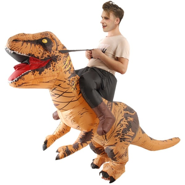 Party Adult Inflatable Dinosaur Funny Party Supplies Orange