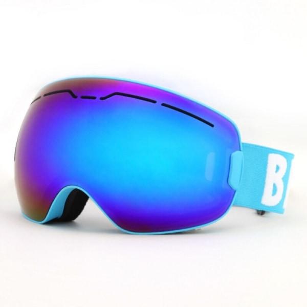 Skidglasögon Dubbla lager Anti-dimma Snowboardglasögon för vuxna