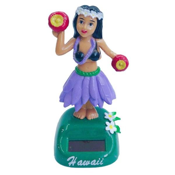 Sol- Hawaii flicka Dansprydnader Autoinredning