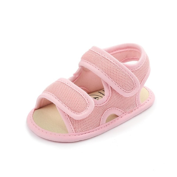 Summer baby breathable mesh non-slip soft sole toddler sandals P 12-18Months