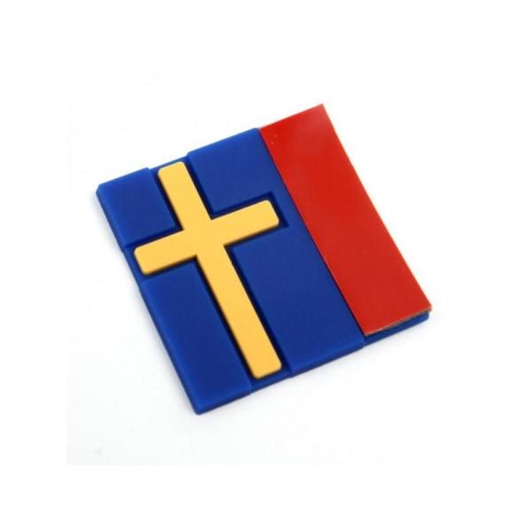 Svensk flaggmärke Dekaler Personliga dekorativa bilklistermärken