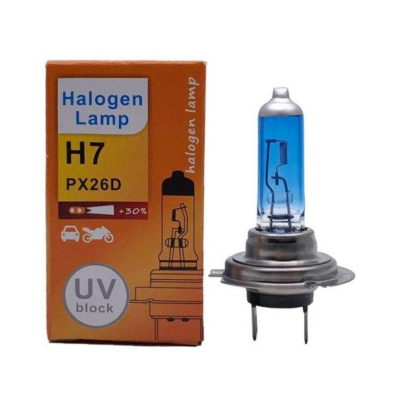 Universal 2pcs H7 55W 12V LED Halogen Xenon Headlight Bulb Lamp