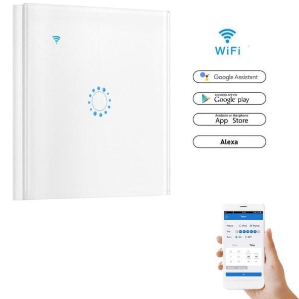 WiFi Smart Light Switch-skärm Touch-fjärrkontroll