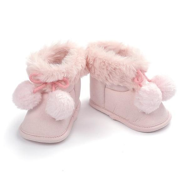 winnter baby plus velvet warm boots non-slip soft sole shoe P 6-12 month