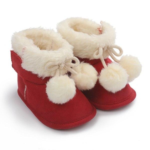 winnter baby plus velvet warm boots non-slip soft sole shoe R 12-18month