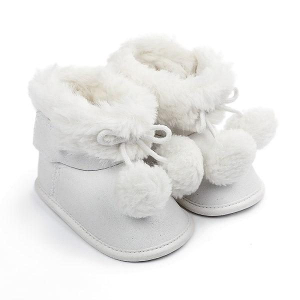 winnter baby plus velvet warm boots non-slip soft sole shoe W 0-6 month