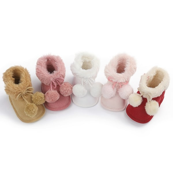 winnter baby plus velvet warm boots non-slip soft sole shoe XR 0-6 month