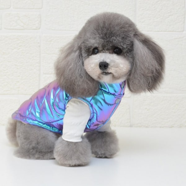 Winter Dog Coat Puppy Cat Christmas Vest för små stora hundar