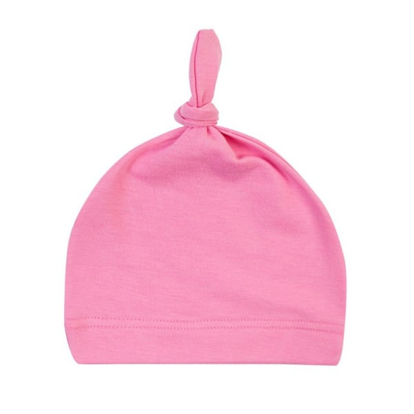 Winter Multi-color Newborn Baby Cotton Knot Beanies Sleep Caps Y