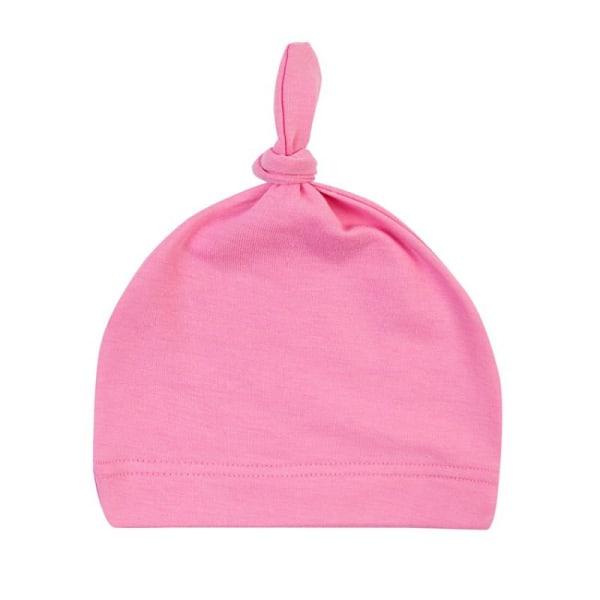 Winter Multi-color Newborn Baby Cotton Knot Beanies Sleep Caps P