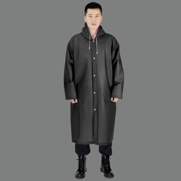 Women Raincoat Men Black Rain Clothes covers
