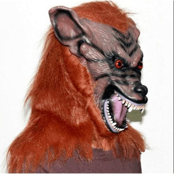 Maskerad varg mörkröd mörkröd