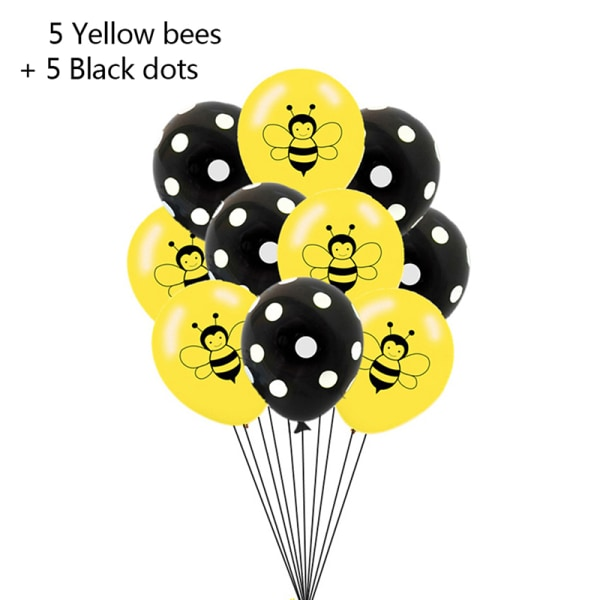 "12 ""latex brev bi tema tryckta ballonger konfetti glitter shi"