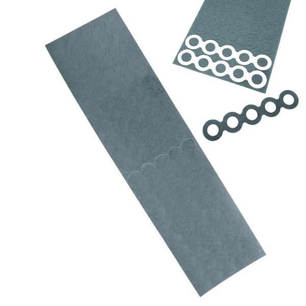 18650 batteri elektrisk isolering isolering ring självhäftande kort