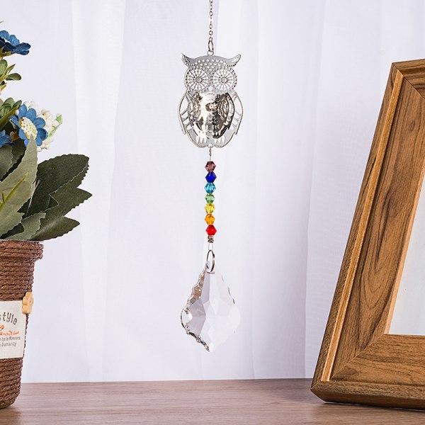 1 st kristall suncatcher ljuskrona kristallkula prismer hängande ha