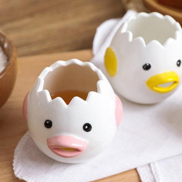 söt kyckling keramisk äggvit separator filter bakverktyg kitc