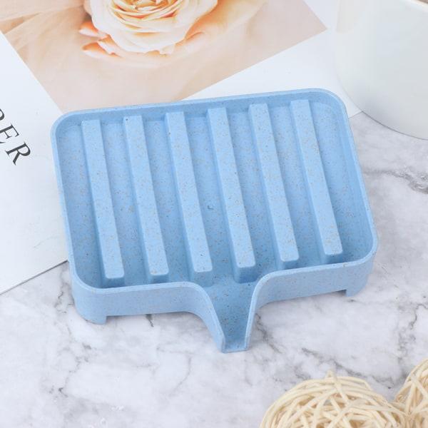flexibelt badrum silikontvål förvaringshållare tvålbox plat
