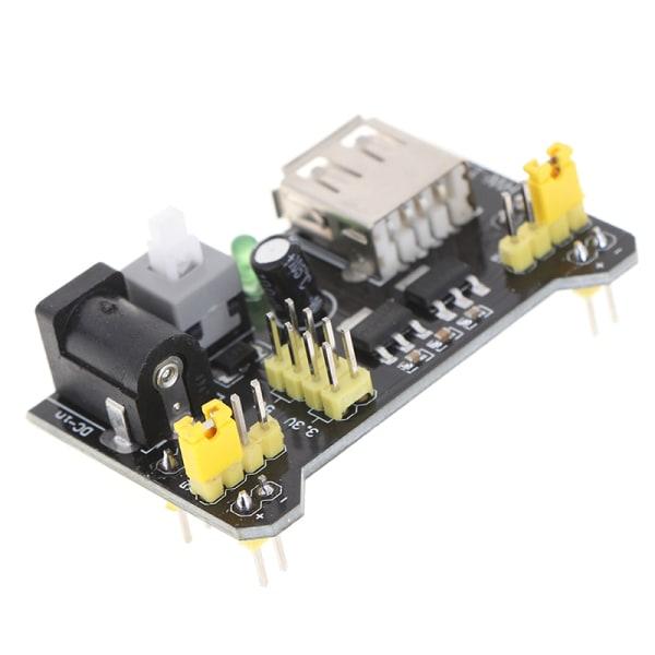 hw-131 mb102 strömförsörjningsmodul 3.3v 5v för arduino lödfri