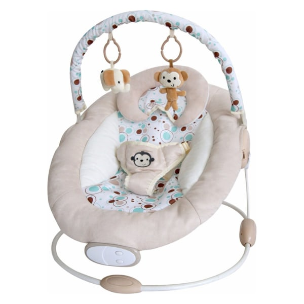 Ladida Babysitter Elegant and Comfy Baby Bouncer Beige one size