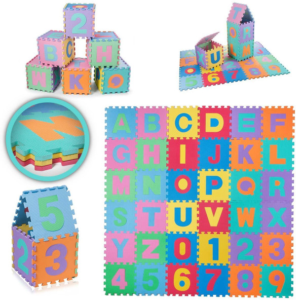 Ladida Lekmatta Puzzle  Blue one size