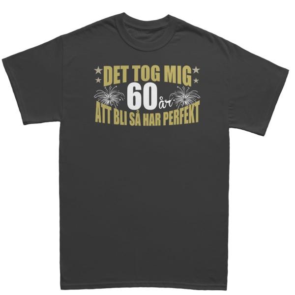 Födelsedag T-shirt - Det tog 60 år att bli perfekt S