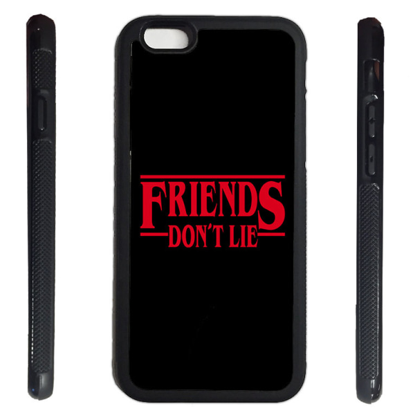 iPhone 7 / 8 skal Stranger things friends don't lie  gummiskal