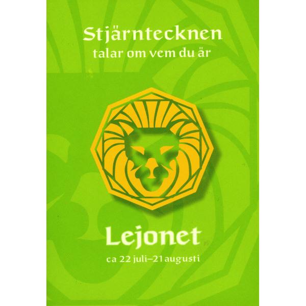 Stjärntecknen talar om vem du är : lejonet 9789153432159