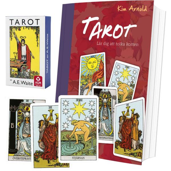 Tarotpaket: Tarot bok + Waite svensk tarot (pocket)