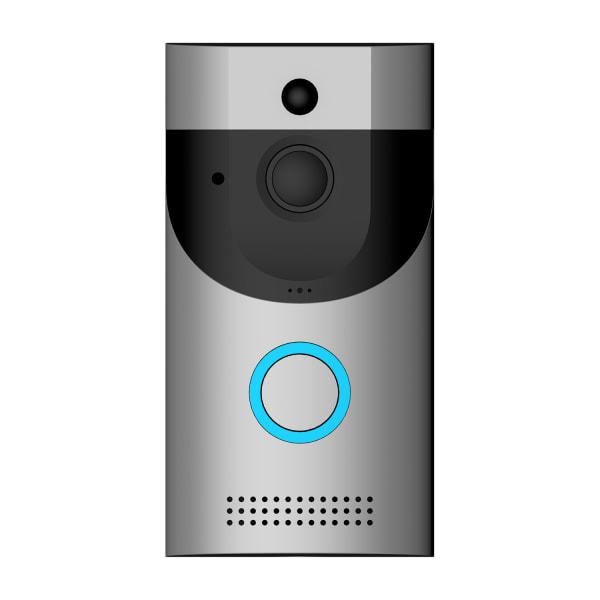 B30 Smart dörrklocka med video och PIR, WiFi, 3400mAh