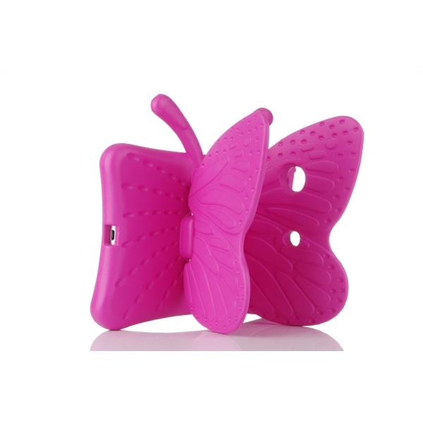 Fjärilsformat barnfodral till iPad Mini 1/2/3/4/5 rosa