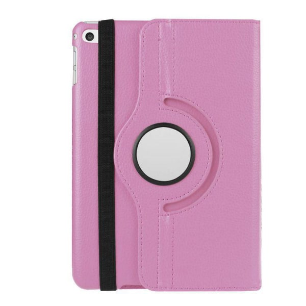 Läderfodral med roterbart ställ rosa, iPad Mini 5