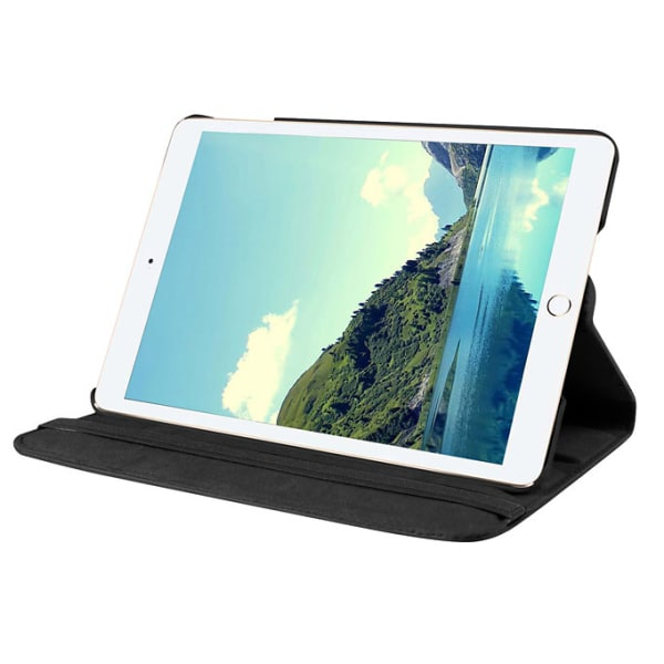 Läderfodral med roterbart ställ svart, iPad mini (2019)