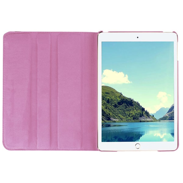 Läderfodral med roterbart ställ till iPad Mini 4/5, rosa rosa
