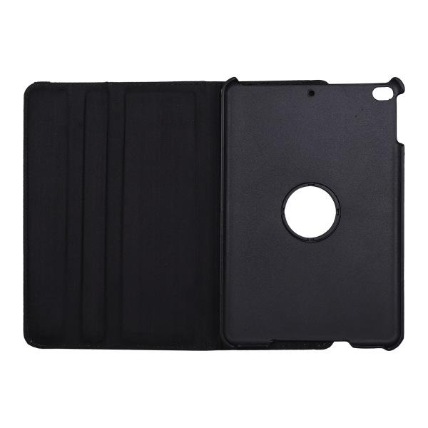 Leopard Läderfodral med roterbart ställ, iPad Mini 4/5 grå