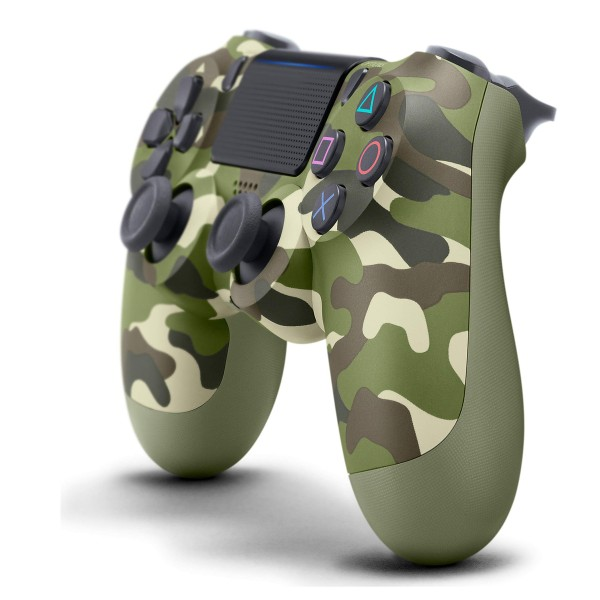 PS4 DualShock Bluetooth trådlös handkontroll Camo grön