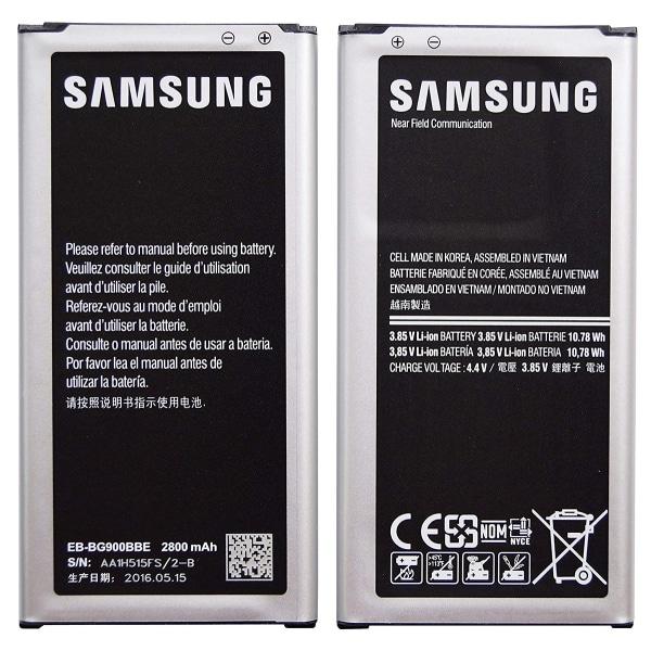 Samsung Galaxy S5 originalbatteri, 2800mAh, EB-BG900ABE