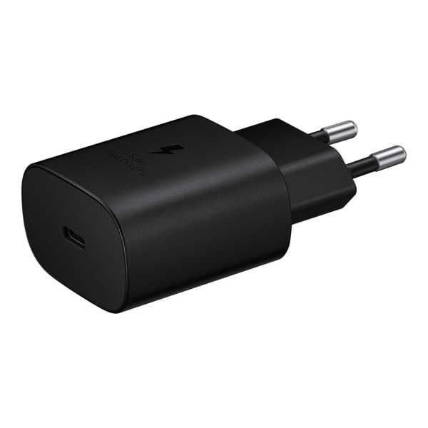 Samsung TA-800 originalladdare+USB-C kabel, snabbladdning svart