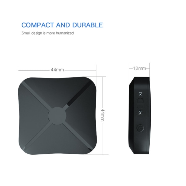 2 in 1 Stereo Bluetooth Receiver Transmitter as the picture