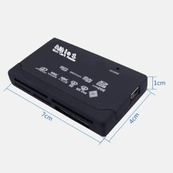 All In One Card Reader USB 2.0 SD Card Reader as the picture