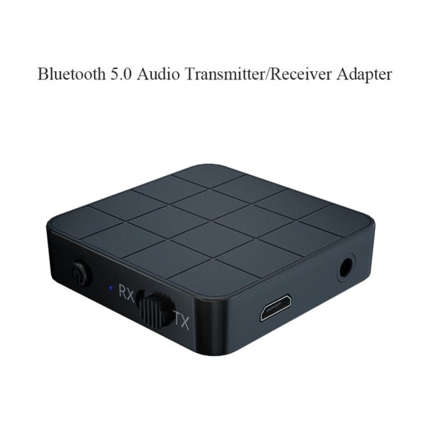 Bluetooth 5.0 Audio Receiver Transmitter 2 in 1 3.5mm jack as the picture