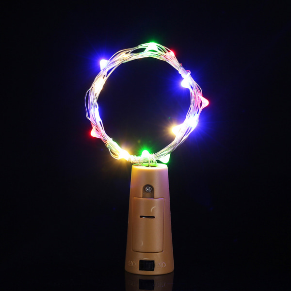 LED Copper Wire String Light Fairy Lamp Christmas Decor warm white 1.4m without battery